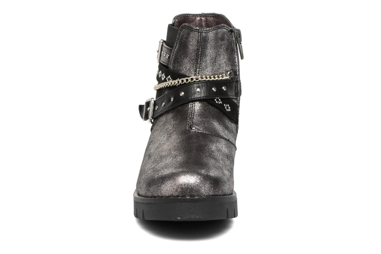 Bottines et boots ASSO 60156 Gris vue portées chaussures