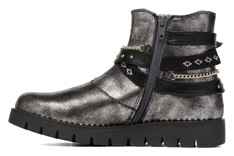 Boots en enkellaarsjes ASSO 60156 Grijs voorkant
