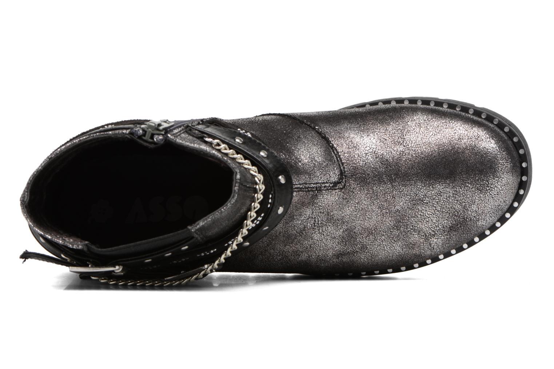 Boots en enkellaarsjes ASSO 60156 Grijs links