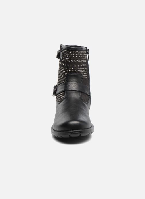 Ankle boots ASSO 58906black Black model view