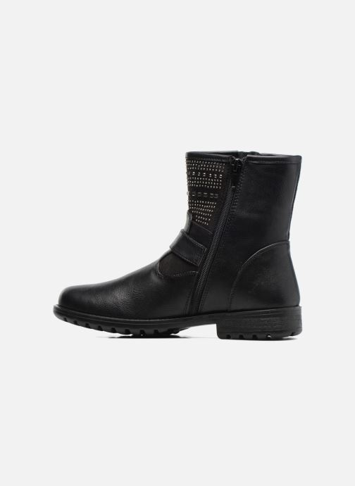 Ankle boots ASSO 58906black Black front view
