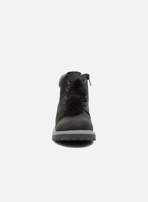 Bottines et boots ASSO 58210 Noir vue portées chaussures
