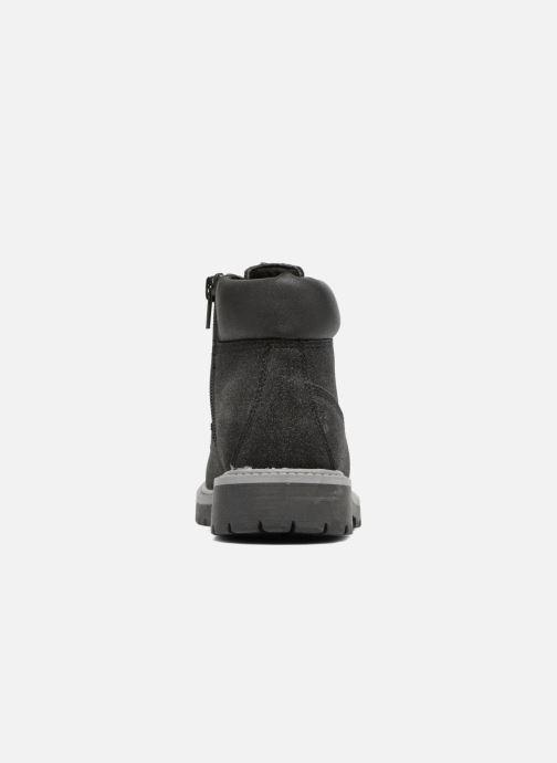 Bottines et boots ASSO 58210 Noir vue droite