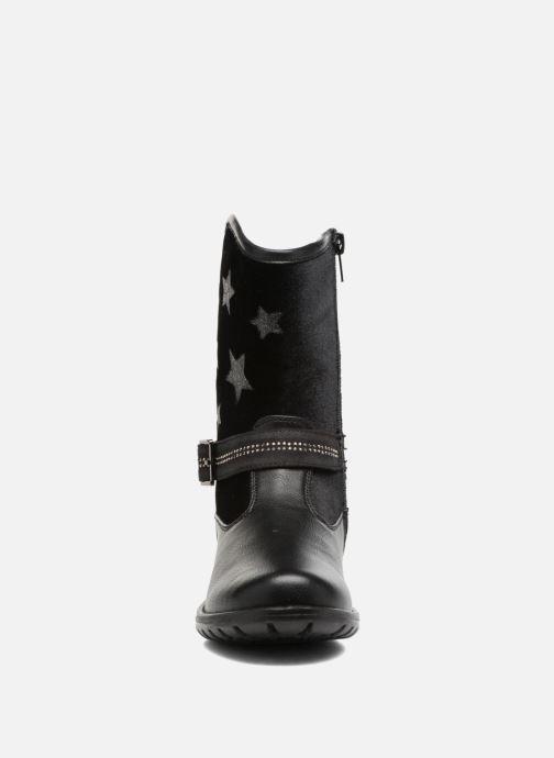 Botas ASSO 60213 Negro vista del modelo