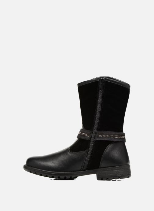 Stiefel ASSO 60213 schwarz ansicht von vorne