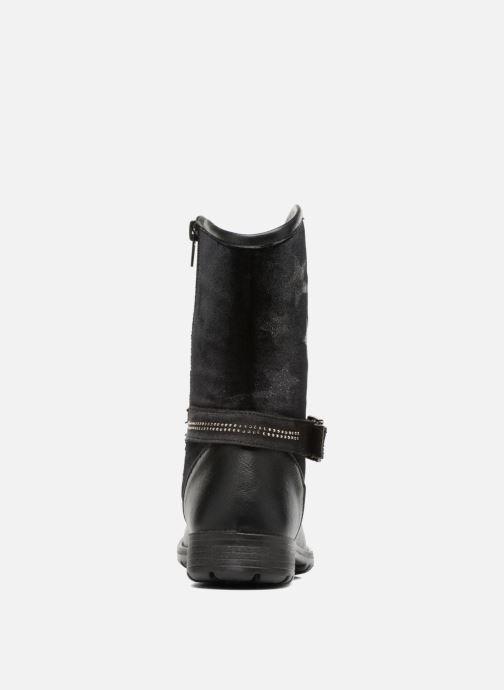 Stiefel ASSO 60213 schwarz ansicht von rechts