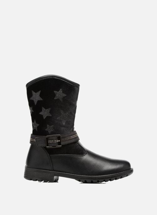 Stiefel ASSO 60213 schwarz ansicht von hinten
