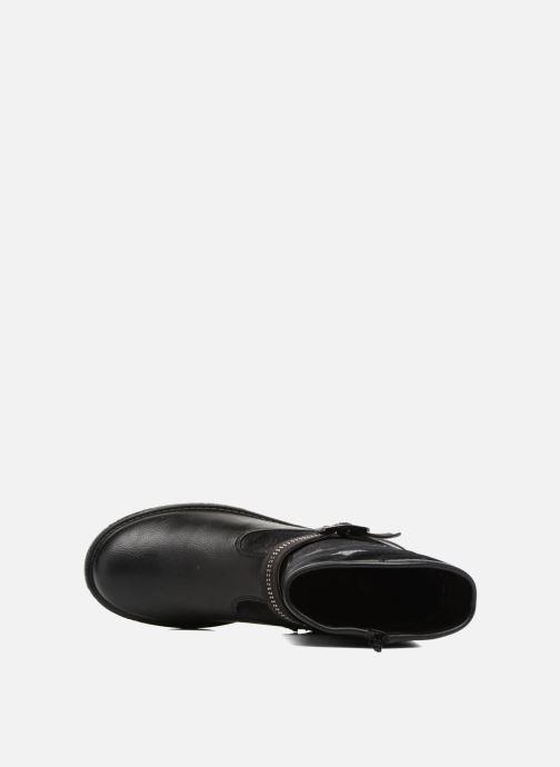 Stiefel ASSO 60213 schwarz ansicht von links
