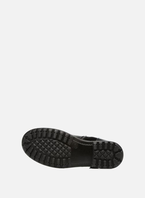Stiefel ASSO 60213 schwarz ansicht von oben
