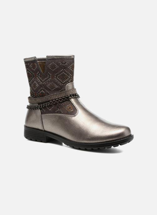Støvler & gummistøvler ASSO 58113 Grå detaljeret billede af skoene