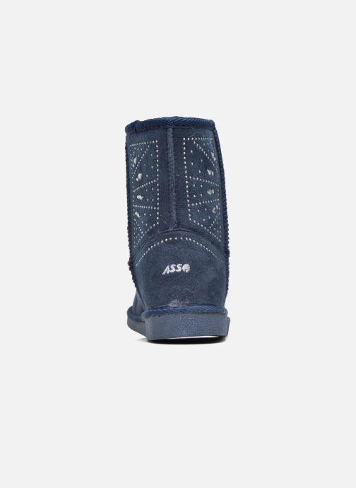 Laarzen ASSO 6000 Blauw rechts