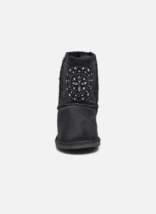 Bottes ASSO 6000 Noir vue portées chaussures