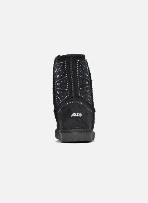 Bottes ASSO 6000 Noir vue droite