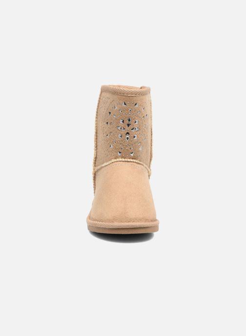 Bottes ASSO 6000 Marron vue portées chaussures