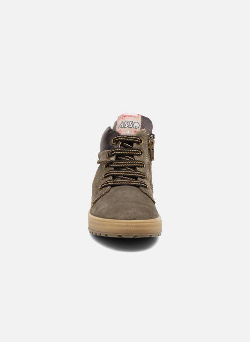 Baskets ASSO 59651 Marron vue portées chaussures