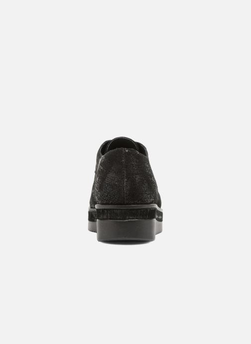 Chaussures à lacets Sweet Lemon L.16.Saba Noir vue droite