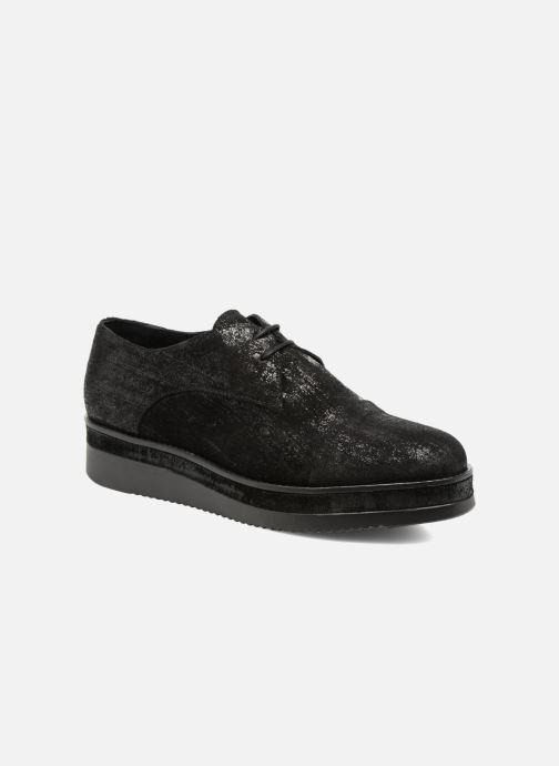 Chaussures à lacets Sweet Lemon L.16.Saba Noir vue détail/paire