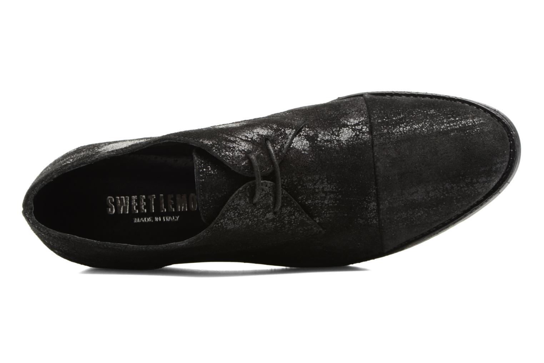 Chaussures à lacets Sweet Lemon L.16.Saba Noir vue gauche
