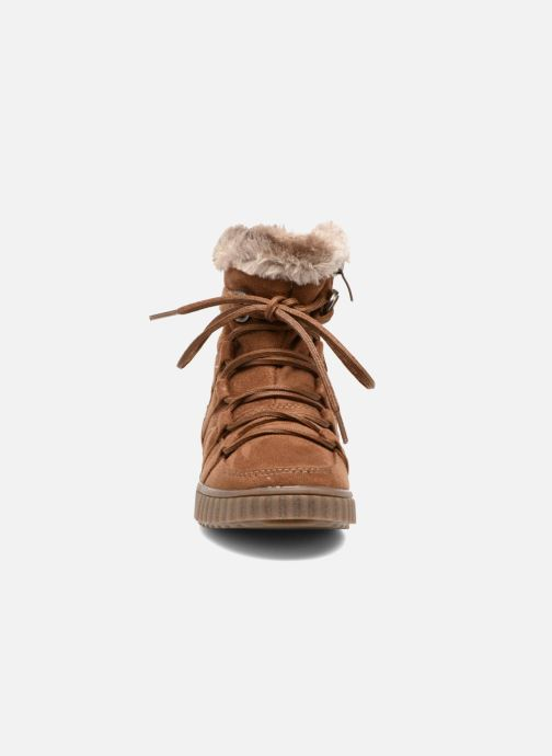 Boots en enkellaarsjes I Love Shoes SINCENTE Bruin model