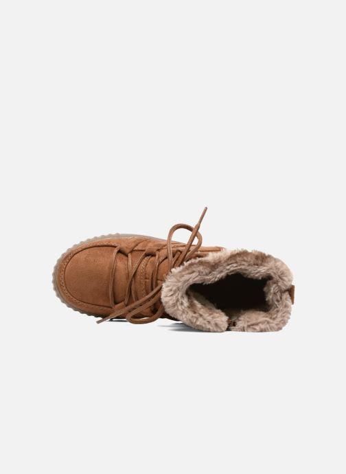 Boots en enkellaarsjes I Love Shoes SINCENTE Bruin links
