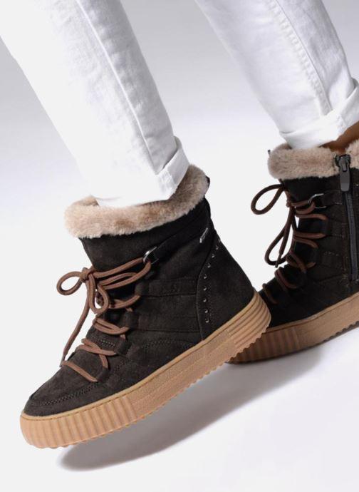 Botines  I Love Shoes SASTIE Marrón vista de abajo