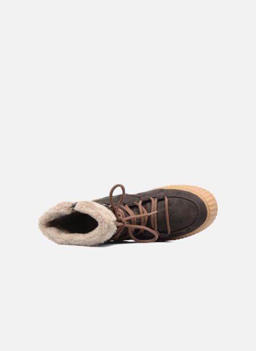 Botines  I Love Shoes SASTIE Marrón vista lateral izquierda