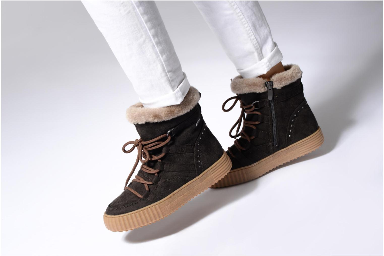 Bottines et boots I Love Shoes SASTIE Marron vue bas / vue portée sac