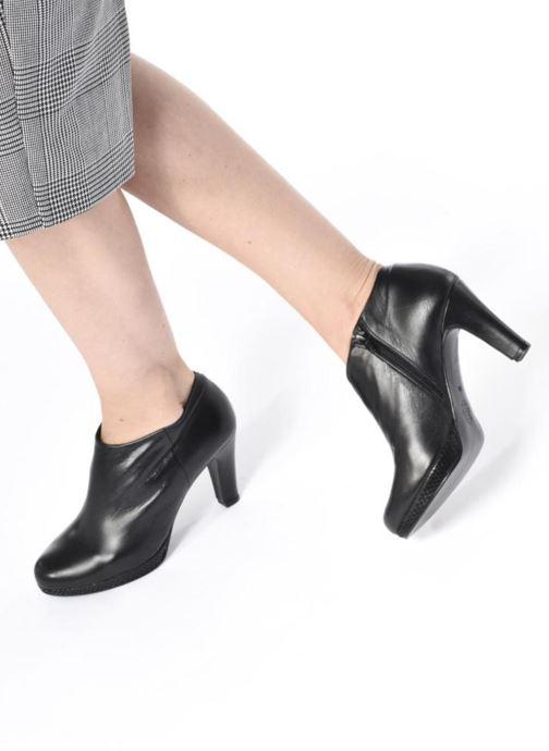 Bottines et boots Anna Volodia Ainora Noir vue bas / vue portée sac