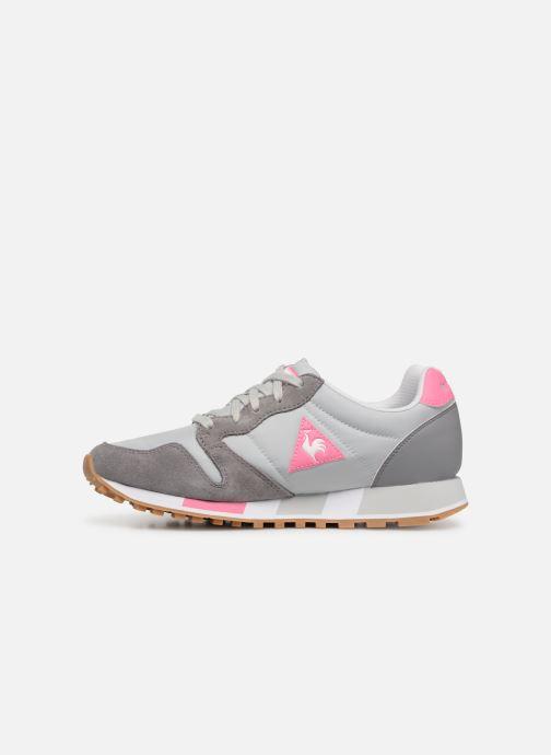 Sneakers Le Coq Sportif Omega W Grigio immagine frontale