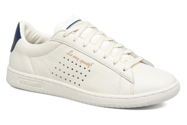 a4c80b5038d7 ... closeout baskets le coq sportif arthur ashe blanc vue détail paire  dcfe4 fdd67
