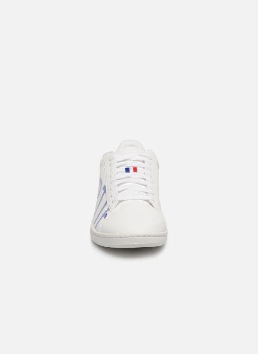 Sneakers Le Coq Sportif Courtset Bianco modello indossato