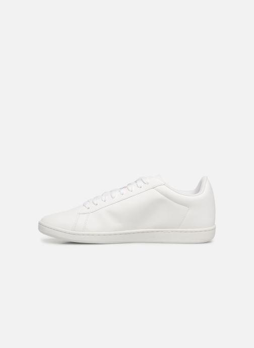Sneakers Le Coq Sportif Courtset Bianco immagine frontale