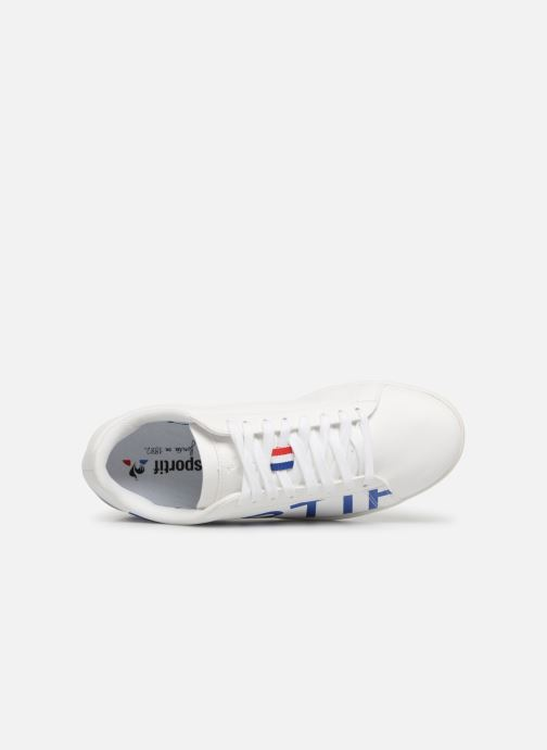 Sneakers Le Coq Sportif Courtset Bianco immagine sinistra