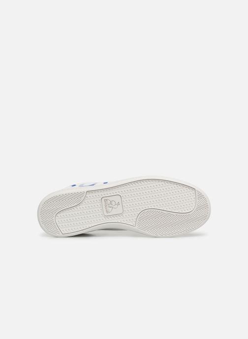 Sneakers Le Coq Sportif Courtset Bianco immagine dall'alto