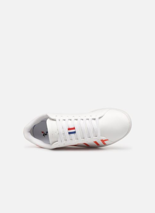 Sneakers Le Coq Sportif Courtset Bianco immagine sinistra