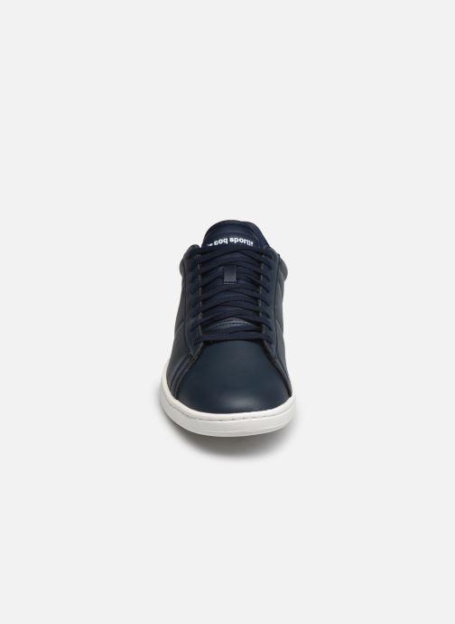 Sneaker Le Coq Sportif Courtset blau schuhe getragen