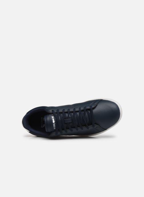 Sneaker Le Coq Sportif Courtset blau ansicht von links