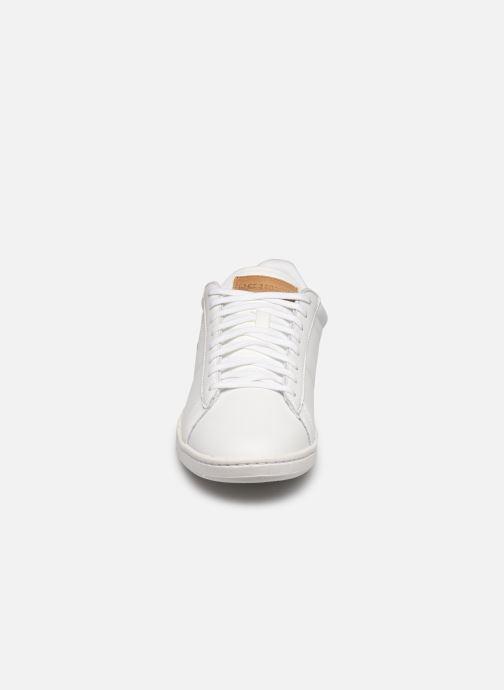 Baskets Le Coq Sportif Courtset Blanc vue portées chaussures