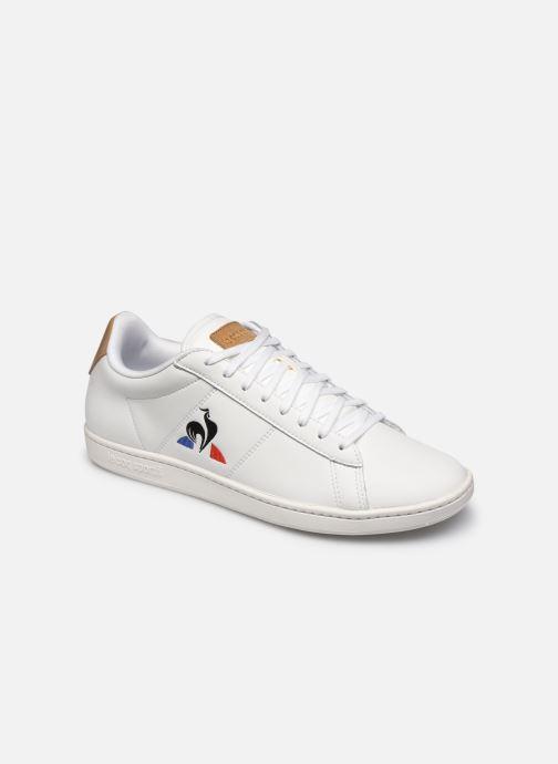 Sneakers Le Coq Sportif Courtset Hvid detaljeret billede af skoene