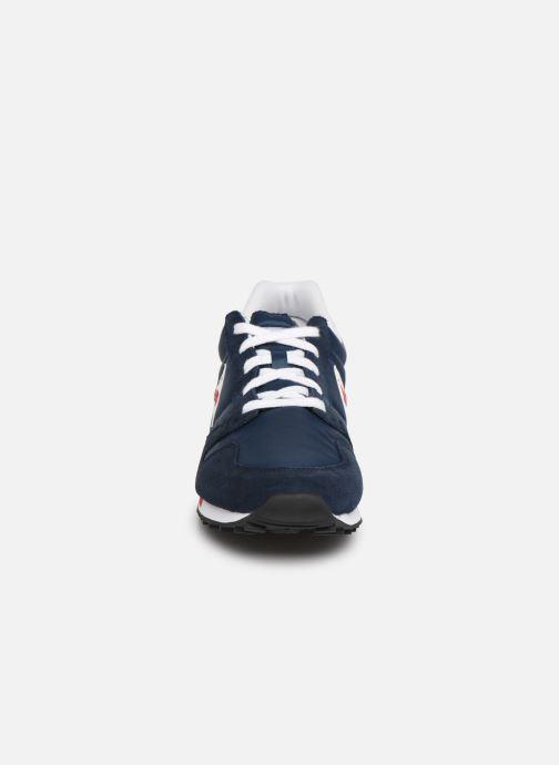 Baskets Le Coq Sportif Omega Bleu vue portées chaussures