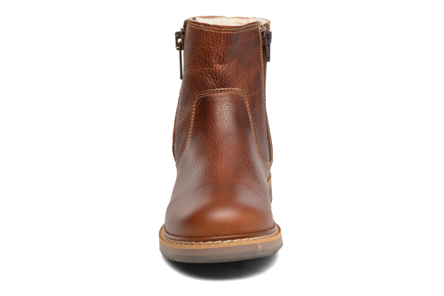 Ankle boots Bullboxer Manfor Brown model view