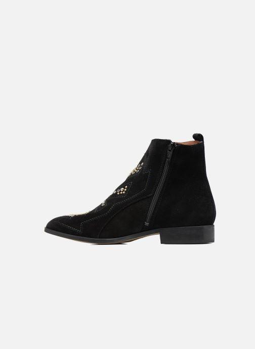 Boots en enkellaarsjes Bullboxer Bretale Zwart voorkant