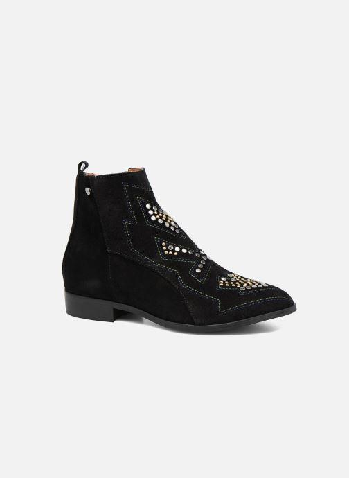 Boots en enkellaarsjes Bullboxer Bretale Zwart detail