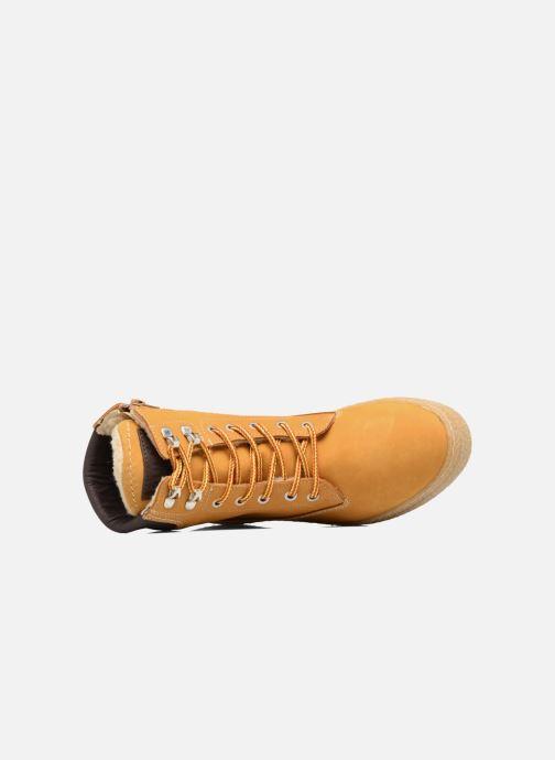 Bottines et boots Bullboxer Marsile Jaune vue gauche