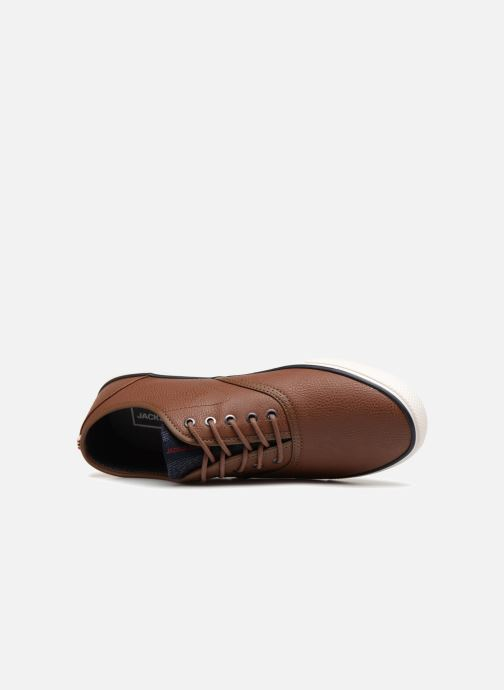 Baskets Jack & Jones JFWSCORPION Marron vue gauche