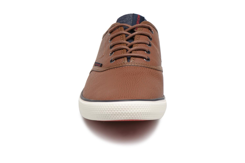 Sneaker Jack & Jones JFWSCORPION braun schuhe getragen