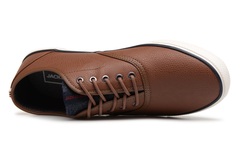 Sneaker Jack & Jones JFWSCORPION braun ansicht von links