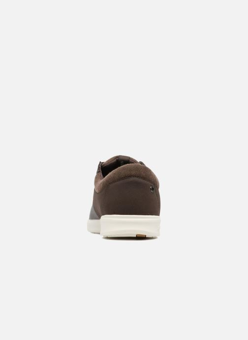 Baskets Jack & Jones JFWGASTON PU MIX Marron vue droite