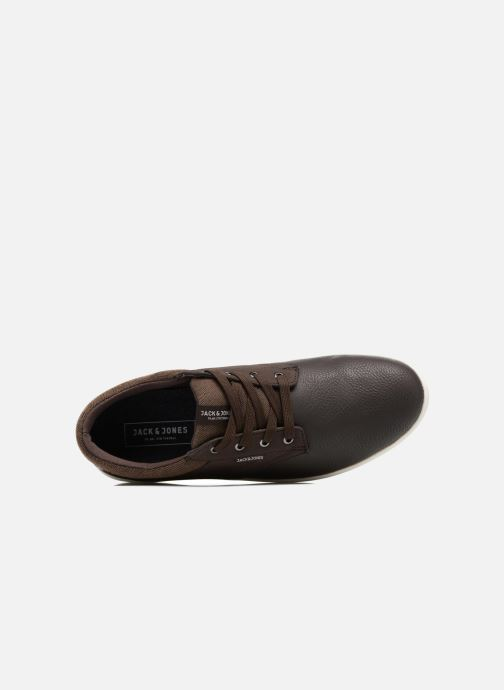 Baskets Jack & Jones JFWGASTON PU MIX Marron vue gauche