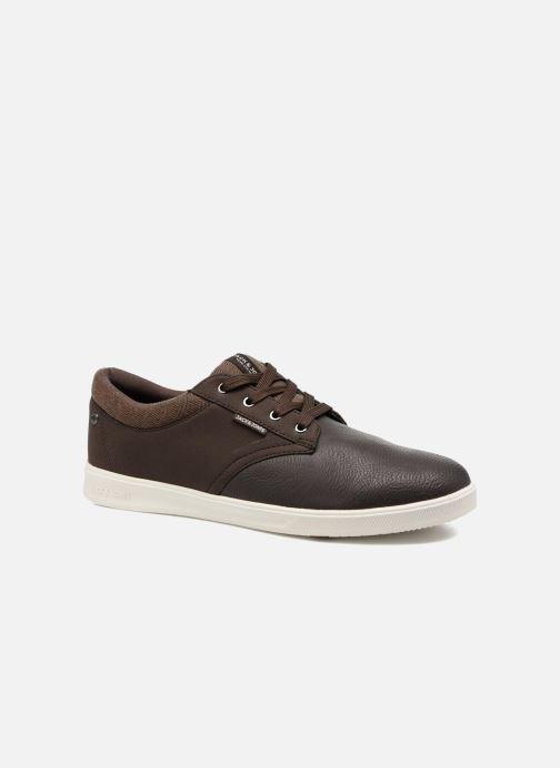 Sneakers Jack & Jones JFWGASTON PU MIX Bruin detail